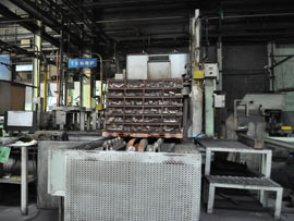 Batch type T6 furnace