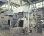 Batch type gas carbonization furnace