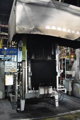 バッチ型ガス軟窒化炉