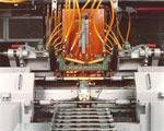 Single shot induction hardening machine
