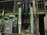 Vertical movement type induction hardening machine
