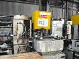 Submerged induction hardening machine