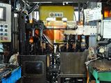 Oil submerged induction hardening machine