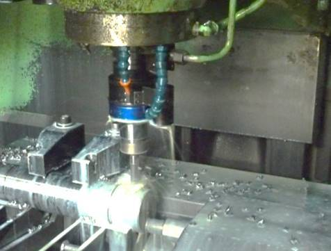 Vertical type NC milling machine