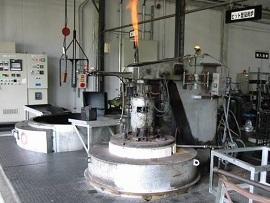 ピット型ガス浸炭炉